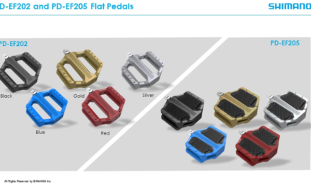 Bold color options for new SHIMANO Flat Pedals
