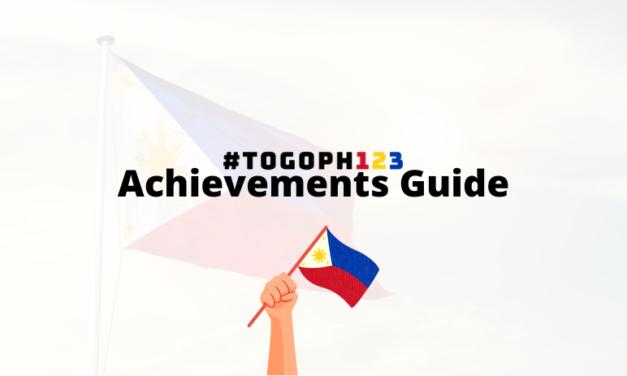 #TOGOPH123 Achievement Guide