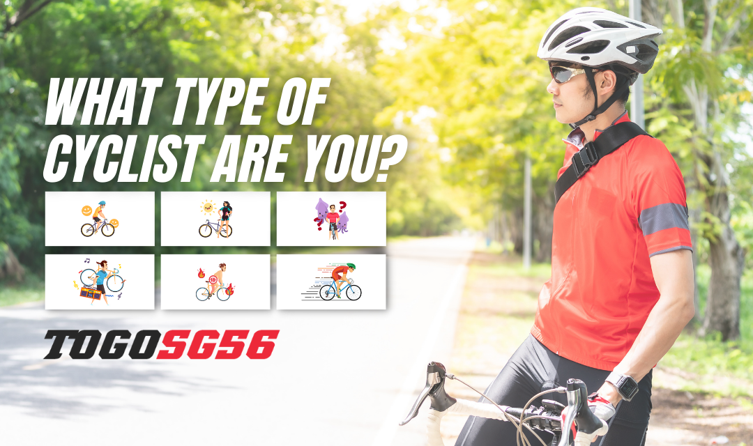 THE TYPES OF CYCLISTS YOU MEET IN SINGAPORE