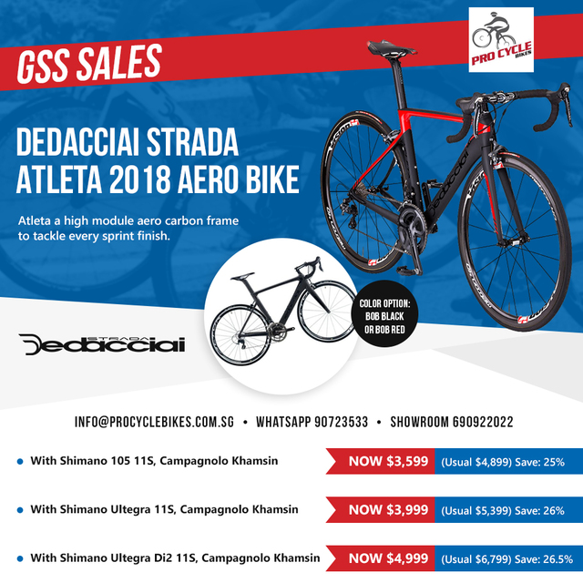Great Singapore Bike Sales!